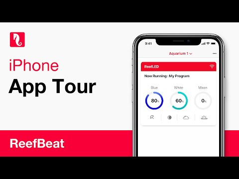 ReefBeat - App tour iPhone