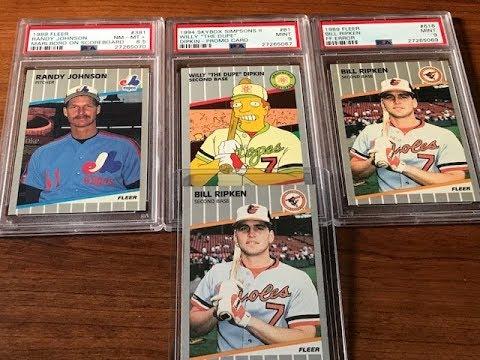 MORE BILLY RIPKEN ERROR VARIATIONS FOUND! 1988 & 1989 Fleer Baseball Cards