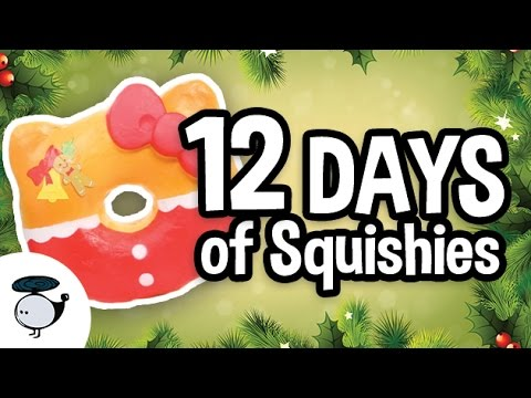 12 Days of Squishies [Squishy Music Video]