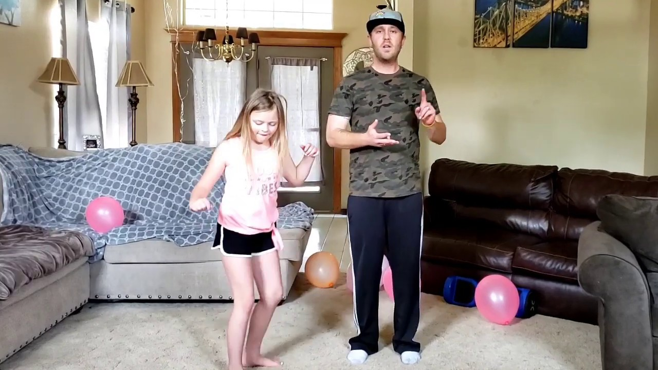 Dance lessons with my brother-in-law
