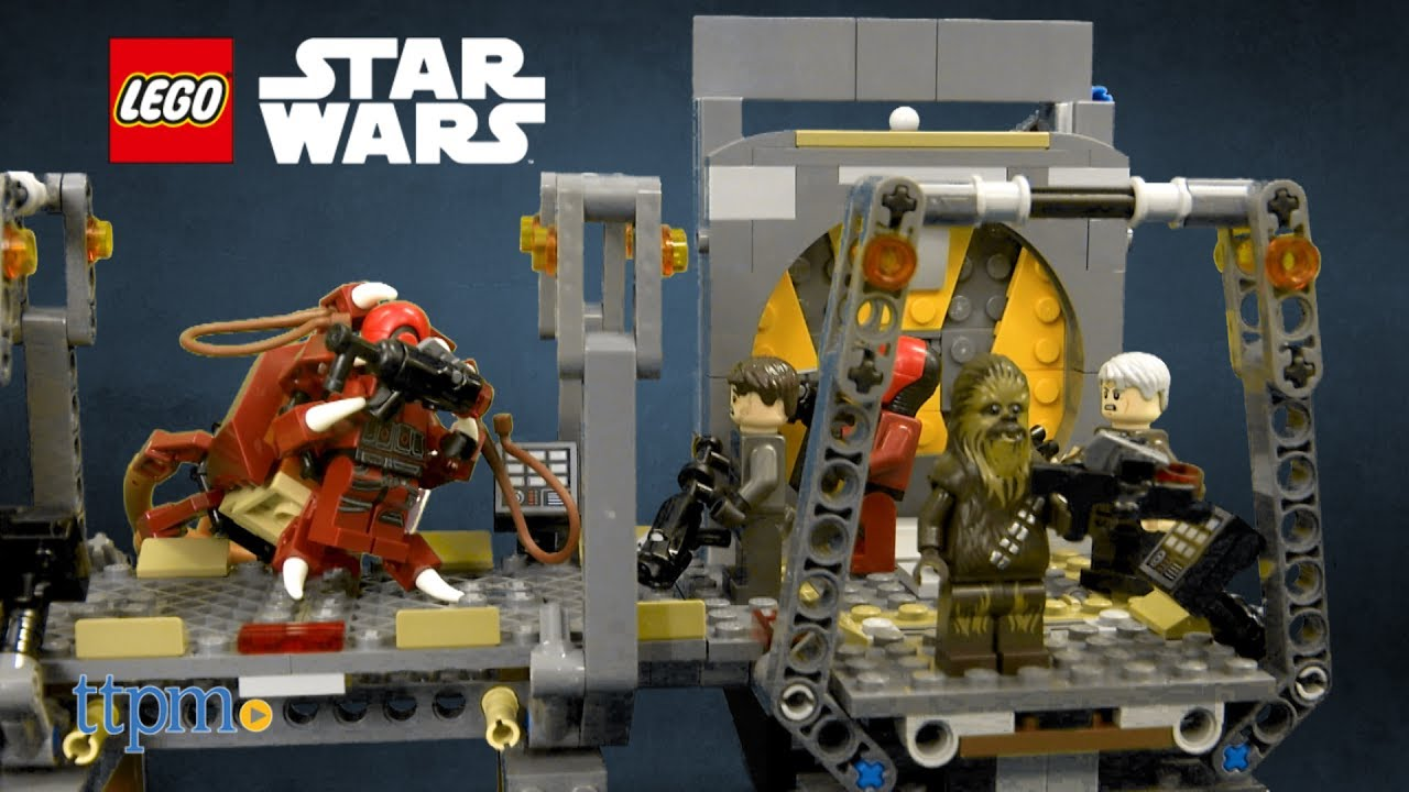 New Lego Star Wars Chewbacca Minifigure from set #75180 Complete.