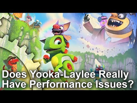 Does Yooka-Laylee Really Have Frame-Rate Performance Problems?