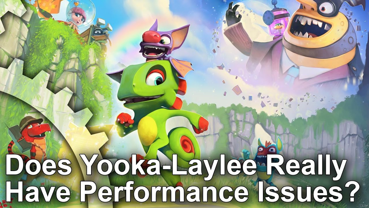 Yooka Laylee PS4 Runs at a Locked 30fps, Analysis Finds