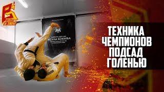 Бросок подсадом голенью или через голову. Александр Михайлин. Техника чемпионов. Дзюдо и грэпплинг.
