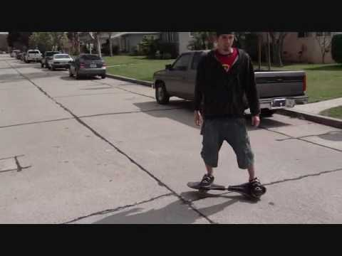 AXIS Casterboarding - Tutorial # 2 NoseSpins with Tim Fox ( any ripstik waveboard timberwolf)