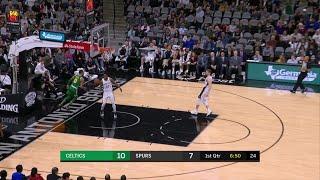 1st Quarter, One Box Video: San Antonio Spurs vs. Boston Celtics