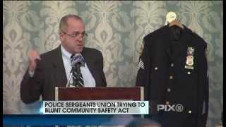 Ed Mullins, President of Sergeants Benevolent Association, on WPIX 11 On Safety Act