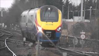 Trains at Leicester 16/3/16