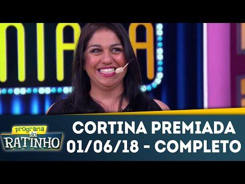 Cortina Premiada - Completo | Programa Do Ratinho (01/06/18)