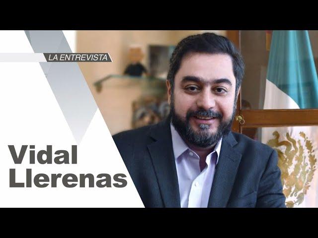 La Entrevista: Vidal Llerenas, alcalde de Azcapotzalco, CDMX