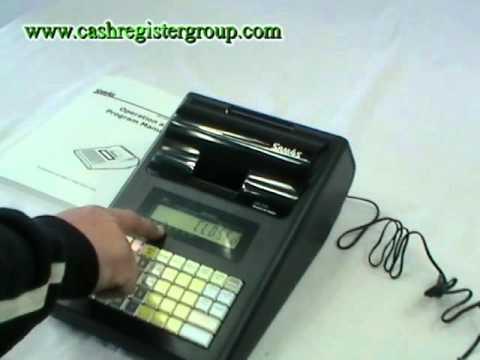 sam4s er 230 portable cash register installation tutorial. Black Bedroom Furniture Sets. Home Design Ideas