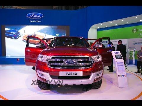 """[XEHAY.VN] Chi tiết """"thỏi nam châm"""" Ford Everest hoàn toàn mới tại VN"""