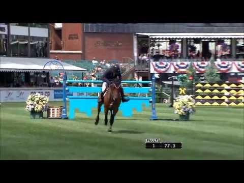 Spruce Meadows Moment - Kent Farrington & Voyeur 2014