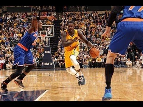 Lance Stephenson Scores a Career-High 28 Points versus the Knicks