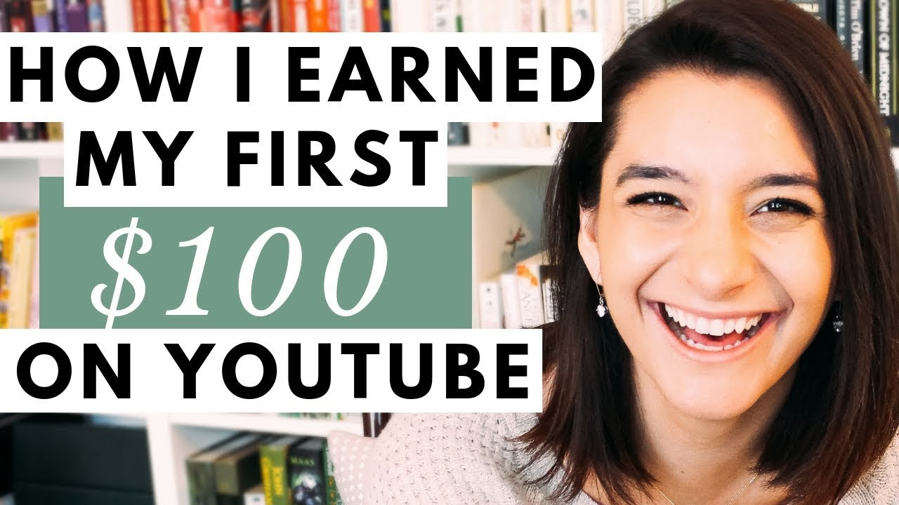 How Much Does YouTube Pay? How I Earned My First $100 & Tips for Making  Money on YouTube
