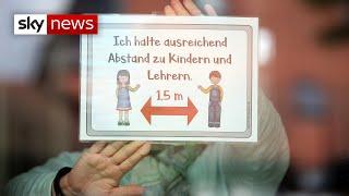 Coronavirus: Germany reopens schools and shops