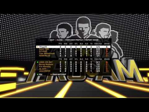 Testing 2k17 archetype (Sharpshooter) on 16
