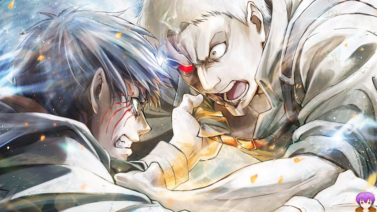"""The Fight We All Wanted """"Armored Titan vs Eren"""" - Attack ..."""