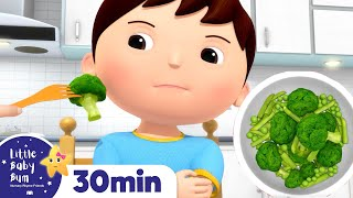 No No I Don't Want To Eat That | +More Nursery Rhymes & Kids Songs | ABCs and 123s | Little Baby Bum