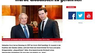 Kurz gesteht: Kickl als Innenminister wurde Globalisten zu gefährlich