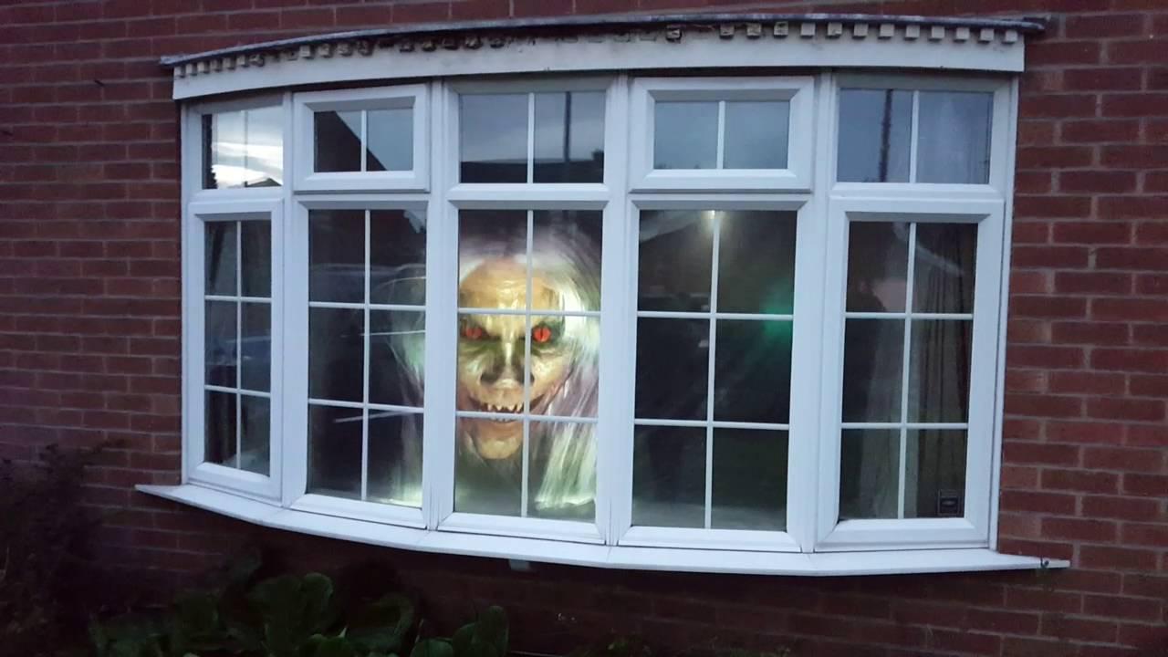 halloween window projection - Halloween Window