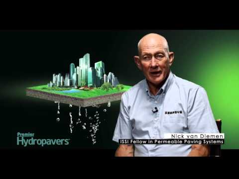 The benefits of using Premier Hydropavers™ permeable pavers