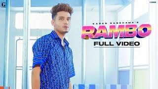 RAMBO : Karan Randhawa (Official Video) Satti Dhillon   New Punjabi Song 2021   GK Digital   GeetMP3