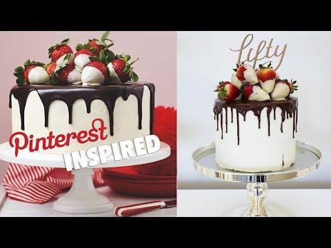PINTEREST INSPIRED BIRTHDAY DRIP CAKE
