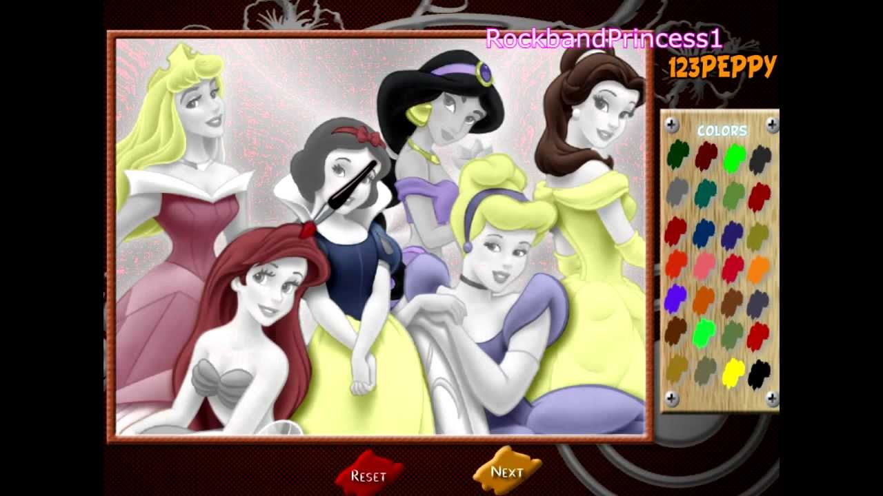 Disney Princess Online Games Coloring