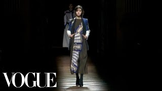 Dries Van Noten Ready to Wear 2012 Vogue Fashion Week Runway Show