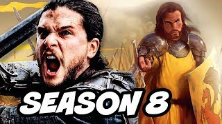 Game Of Thrones Season 8 Jon Snow Golden Company Theory