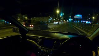 2002 Mitsubishi Lancer Cedia 1.5 GDI CVT POV Test Drive at Night Part 2
