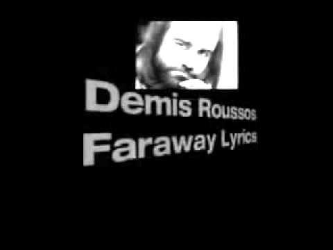 DEMIS ROUSSOS - FAR AWAY LYRICS - SongLyrics.com
