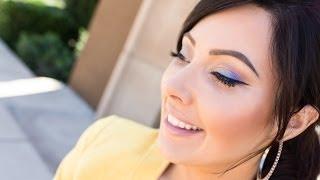 Soft Blue & Purple (Using New Makeup Geek Shadows) | Makeup Geek