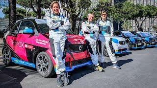 Formula E in Rome - Racing Through the Streets in the Smart EQ! [Sub ENG]