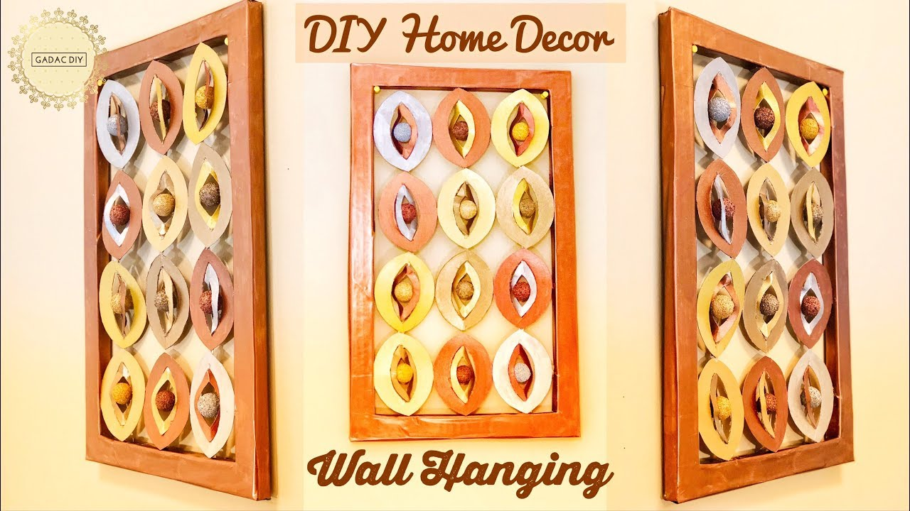 Wall Hanging Decoration | Unique Wall Hanging | wall hanging craft ...