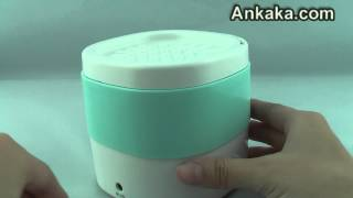 Mini Aroma Ultrasonic Diffuser Aromatherapy Humidifier with 4 Timer Settings | Humidifier Review
