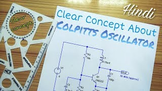 Colpitts Oscillator || full circuit explanation