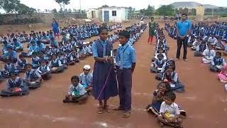 Raajakumara   Bombe Helutaithe   School Version   Boodhihala Govt School   Team Sadrusham   Santosh