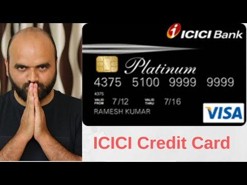 icici Platinum credit card Features and all info !  (Hindi)