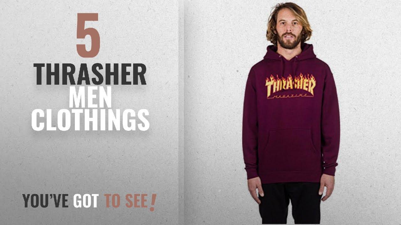 fb6779c4926e Top 10 Thrasher Men Clothings   Winter 2018    Thrasher Flame Logo ...