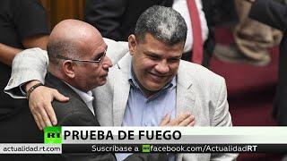 Guaidó es sustituido por Luis Parra como el líder de la Asamblea Nacional en desacato de Venezuela