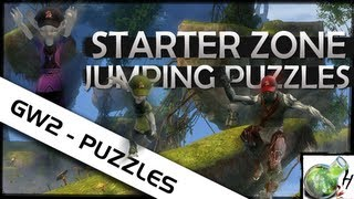 GW2 Shorts - Starter Zone Jumping Puzzles