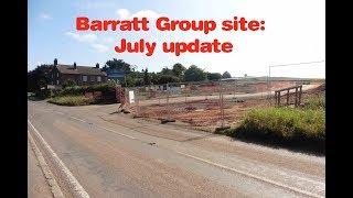 Barratt group site:  July update
