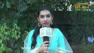 Adithi Krishna At Thangaratham Movie Team Interview