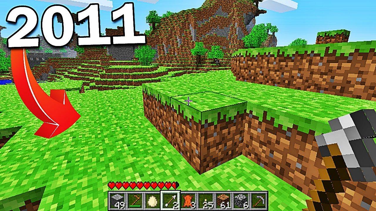Minecraft En 2011 Youtube