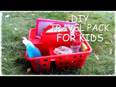 DIY TRAVEL PACK FOR KIDS