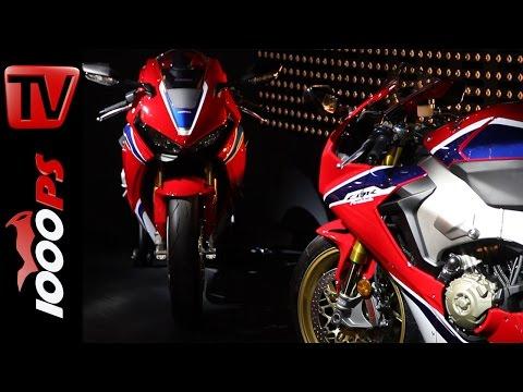 Honda Neuheiten 2017 - Fireblade mit Nicky Hayden - CB1100 NEU