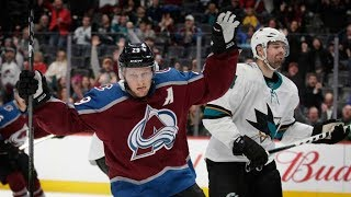 Best Nathan MacKinnon highlights from 2017–18 NHL season