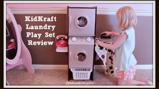 Kidkraft Laundry Play Set In Espresso Review